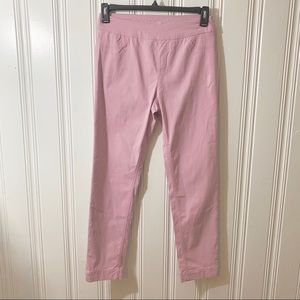 Soft Surroundings Pants - Soft Surroundings Pink Super Stretch Pull On Pant